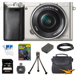Sony Alpha a6000 Mirrorless Digital Camera w/ 16-50mm Len...