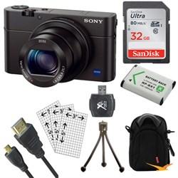 Sony Cyber-shot DSC-RX100 III 20.2 MP Digital Camera + Ac...