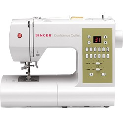 SINGER SEWING CO. 7469Q Confidence Quilter Computerized S...