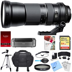 Tamron SP 150-600mm F/5-6.3 Di USD Zoom Lens for Sony Bundle