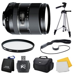 Tamron 28-300mm F/3.5-6.3 Di VC PZD Lens for Nikon Bundle