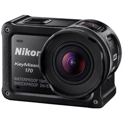 Nikon KeyMission 170 4K Ultra HD Action Camera with Built...