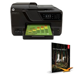Hewlett Packard Officejet Pro 8600 e-All-in-One Wireless Color Printer w/ Photoshop Lightroom 5