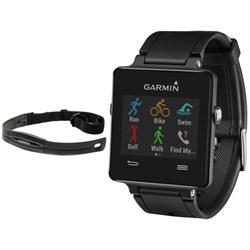 Garmin Vivoactive GPS-Enabled Fitness Smartwatch Black wi...
