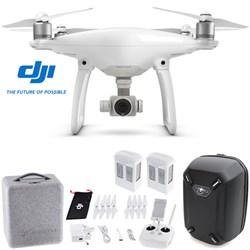 DJI Phantom 4 Quadcopter Drone w/ Hardshell Backpack + Sp...