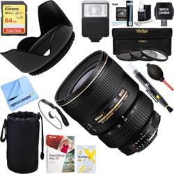 Nikon 17-35mm F/2.8D ED-IF Zoom-Nikkor AF Lens + 64GB Ult...