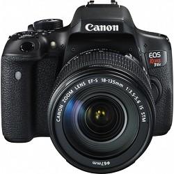 Canon EOS Rebel T6i Digital SLR Camera with EF-S 18-135mm IS STM Lens Kit