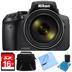 Nikon COOLPIX P900 16MP 83x Super Zoom Digital Camera Ful...