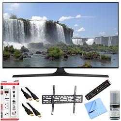 Samsung UN60J6300 - 60-Inch Full HD 1080p 120hz Smart LED HDTV Tilt Mount/Hook-Up Bundle