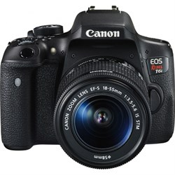 Canon EOS Rebel T6i w/ 18-55mm IS STM Kit