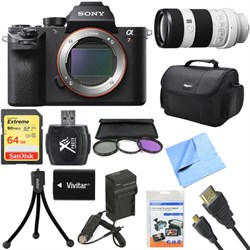 Sony a7R II Full-frame Mirrorless Interchangeable 42.4MP ...