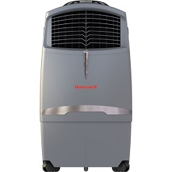 Honeywell CL30XC 63 Pt. Indoor Portable Evaporative Air Cooler with Remote Control - Grey HNCL30XC
