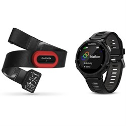 Garmin Forerunner 735XT GPS Running Watch Run-Bundle - Bl...