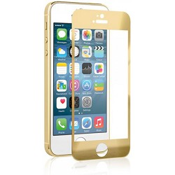 NAZTECH Tempered Glass Gold Screen Protector for Apple iPhone 5s/5/5c NAZ12894