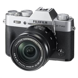 Fuji X-T20 Mirrorless Digital Camera w/ XC16-50mm F3.5-5....