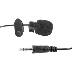 Audio-Technica 3.5mm Computer Clip-On Mini Lapel Microphone ATHLAPELMIC