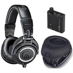Audio-Technica ATH-M50X Professional Studio Black Headpho...
