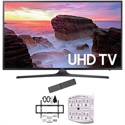 "Samsung 55"" 4K Ultra HD Smart LED TV 2017 Model with Wall..."