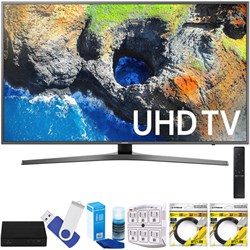"Samsung 40"" UHD 4K HDR LED Smart HDTV Black 2017 Model wi..."