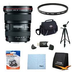 Canon EF 17-40mm F/4 L USM Lens Exclusive Pro Kit