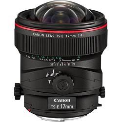 Canon TS-E 17mm f/4L Ultra-Wide Tilt-Shift Manual Focus Lens