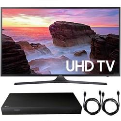 """Samsung UN65MU6300FXZA 65"""" 4K HDR UHD Smart LED TV 2017 +..."""