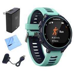 Garmin Forerunner 735XT GPS Running Watch (Midnight Blue)...