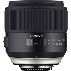 Tamron SP 35mm f/1.8 Di VC USD Lens for Canon EOS Mount (...