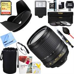 Nikon 18-105mm f/3.5-5.6G ED AF-S VR DX Zoom-Nikkor Lens ...