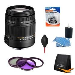 Sigma 18-250mm F3.5-6.3 DC OS HSM Lens for Nikon AF w/ Co...