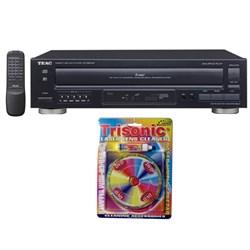 Teac 5-Disc Carousel CD Player w/ Remote 12-PD-D2610MK2 w/ T