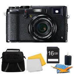 Fujifilm X100S 16MP Full HD 1080p Video Digital Camera 16GB Black Kit