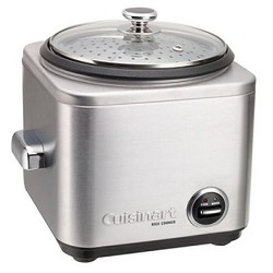 Cuisinart CRC-400 4-Cup Stainless Steel Rice Cooker/Steamer CUICRC400