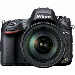 Nikon D610 FX-format 24.3 MP 1080p video Digital SLR Came...
