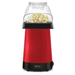 Sensio BELLA 14604 Hot Air Popcorn Popper Maker, Red SEN14604