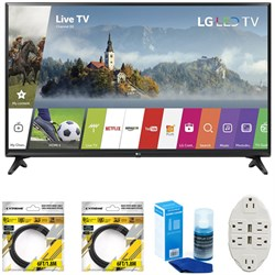 LG 55-inch Full HD Smart TV 2017 Model 55LJ5500 with Clea...