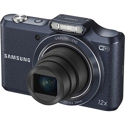 Samsung WB50F 16.2MP 12x Opt Zoom Smart Digital Camera - Black