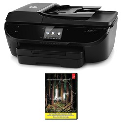 Hewlett Packard ENVY 7640 e-All-in-One Printer with Photoshop Lightroom 5 MAC/PC