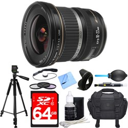 Canon EF-S 10-22mm F/3.5-4.5 USM Lens Deluxe Accessory Bu...