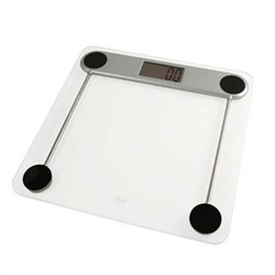American Weigh Scales Low Profile Glass Top Digital Bathroom Scale - 330LPG AME330LPG