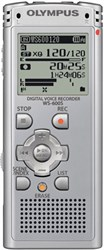 Olympus WS-600S Digital Voice Recorder 142610 (Silver) - OPEN BOX OMWS600SOB