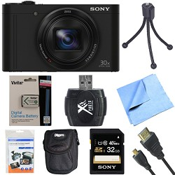 Sony Cyber-Shot DSC-WX500 Digital Camera with 3-Inch LCD ...