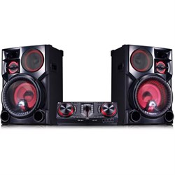 LG CJ98 3500W Hi-Fi Bluetooth Shelf Audio System (LGCJ98K...