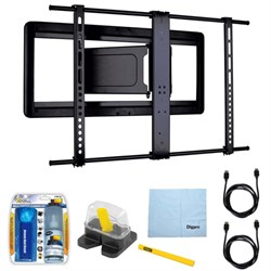 """Sanus Slim Full-motion TV Mount for 51""""-80"""" Flat-panel TV..."""