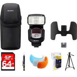 Sony High Power Flash with Quick Shift Bounce Black HVL-F...