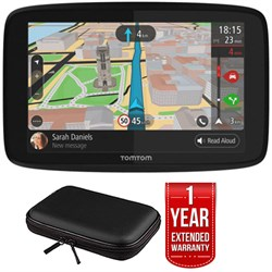 """TomTom GO 620 GPS 6"""" Touch Screen (US-CAN-MEX) w/ Hardshe..."""