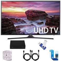 "Samsung UN40MU6290 6-Series Flat 39.9"" LED 4K UHD Smart T..."