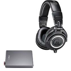 Audio-Technica ATH-M50X Professional Studio Headphones (B...