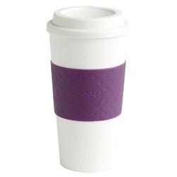 Copco 16-Ounce Capacity Acadia Reusable To Go Mug, Plum 2510-9965 CPC25109965
