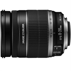 Canon EF 18-200mm F/3.5-5.6 Image Stabilizer Lens, CANON AUTHORIZED USA DEALER
